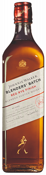 Johnnie Walker Blenders' Batch Red Rye Finish Blended Scotch Whisky, 0.7л