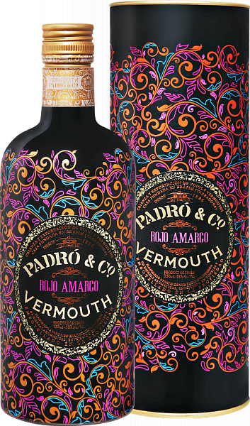 Padró & Co. Rojo Amargo Vermouth (gift box), 0.75л