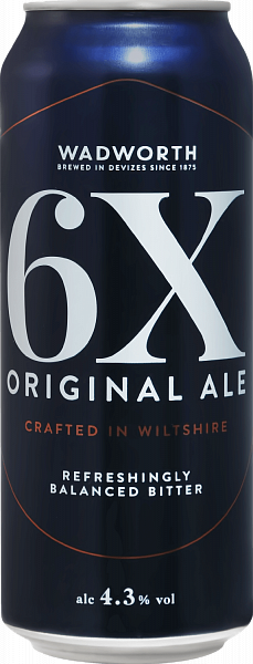 Wadworth 6X Original Ale, 0.5л