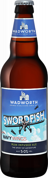 Wadworth Swordfish Rum Infused Ale , 0.5л