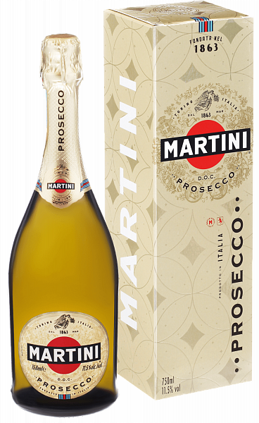 Martini Prosecco DOC (gift box), 0.75л